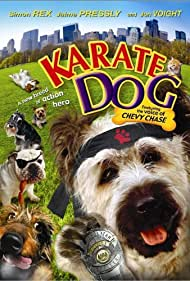 Poster The Karate Dog