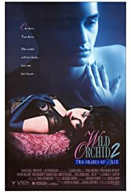 Poster Wild Orchid II: Two Shades of Blue