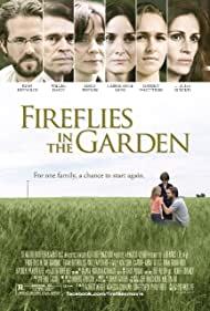 Poster Fireflies in the Garden