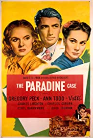 Poster The Paradine Case