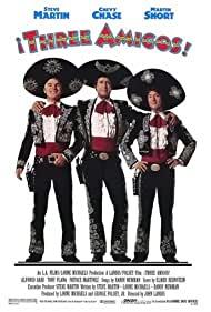Poster Â¡Three Amigos!