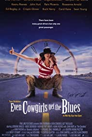 Poster Even Cowgirls Get the Blues