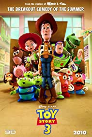 Poster Toy Story 3 3D