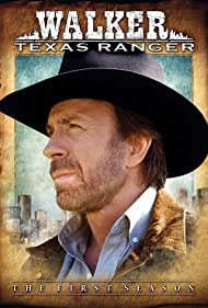 "Poster ""Walker, Texas Ranger"""