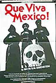 Poster ¡Que Viva Mexico! - Da zdravstvuyet Meksika!