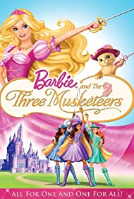 Poster Barbie and the Three Musketeers