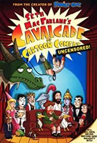 "Poster ""Cavalcade of Cartoon Comedy"""