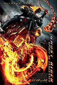 Poster Ghost Rider: Spirit of Vengeance