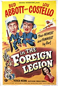 Poster Abbott and Costello in the Foreign Legion