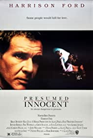 Poster Presumed Innocent
