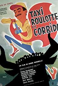 Poster Taxi, Roulotte et Corrida