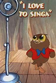 Poster I Love to Singa