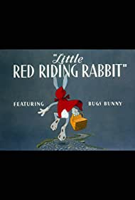 Poster Little Red Riding Rabbit