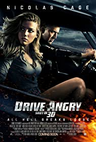 Poster Drive Angry 3D