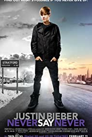 Poster Justin Bieber: Never Say Never