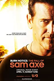 Poster Burn Notice: The Fall of Sam Axe