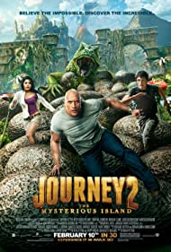 Poster Journey 2: The Mysterious Island