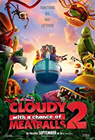 Cloudy with a Chance of Meatballs 2, 2013