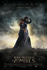 Poster Pride and Prejudice and Zombies
