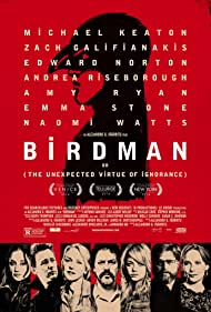 Poster Birdman or (The Unexpected Virtue of Ignorance)