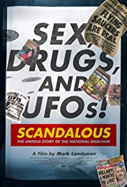 Poster Scandalous: The True Story of the National Enquirer