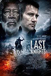 Poster Last Knights