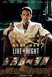 Poster Live by Night