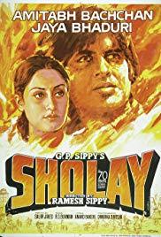 Poster Sholay