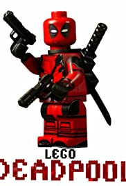 Poster Deadpool Movie in Lego