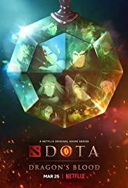 Poster Dota: Dragon's Blood