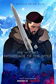 Poster The Witcher: Nightmare of the Wolf