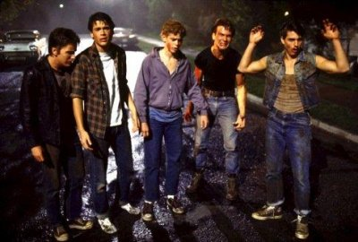 The Outsiders Tom Cruise Emilio Estevez P    C Thomas Howell